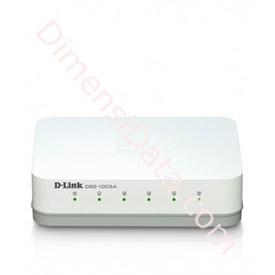 Jual Switch Unmanaged D-LINK 5-ports Gigabit Desktop [DGS-1005A]